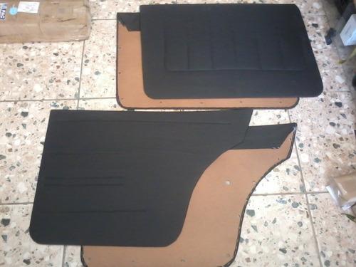 revestimento papelão portas diant+tras opala 4 portas 4 peça