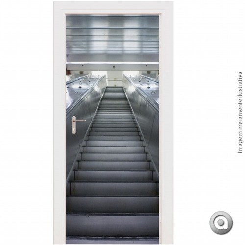 revestimento porta haus for fun escada 100x220