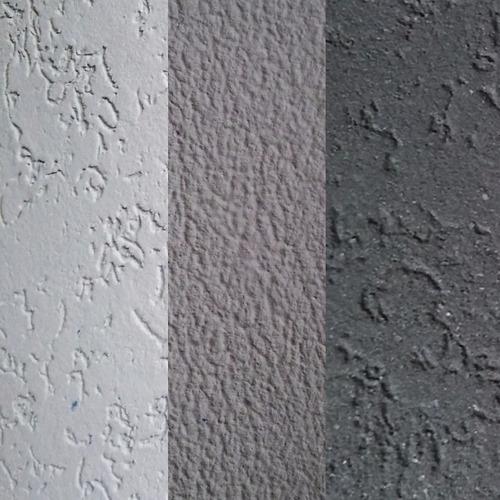 revestimiento acrilico texturado - color gris claro
