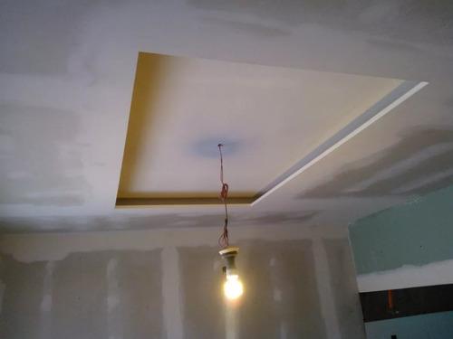 revestimiento anti humedad pared de yeso material colocacion