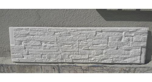 revestimiento autoadhesivo simil piedra rectangular aislante