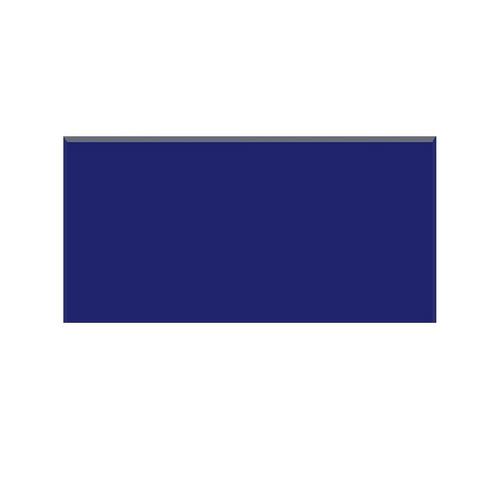 revestimiento azulejos lisos brillante azul cobalto 7.5x15cm