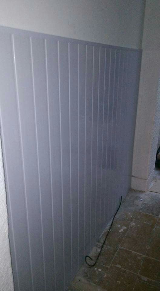Revestimiento de pared de pvc 125 00 en mercado libre for Revestimiento pvc para paredes