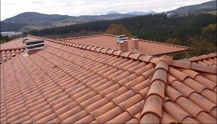 Revestimiento de techos tejas ladrillos tablillas pisos bs en mercado libre - Clases de tejas para tejados ...