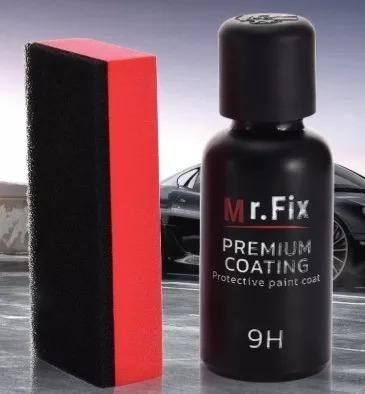 revestimiento de vídrio líquido mr fix 9h 30ml