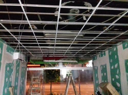 revestimiento de yeso paredes- cielorrasos- venta materiales