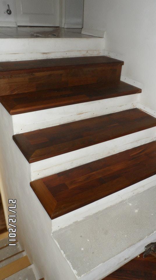 Como revestir una escalera for Como cubrir una escalera