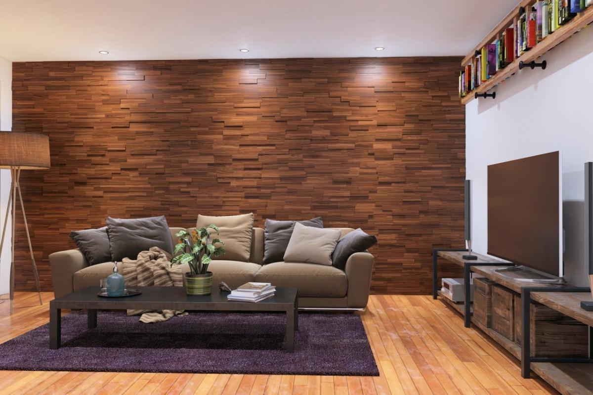Revestimiento madera muros recubrimiento fachada paneles Revestimiento de madera para muros interiores