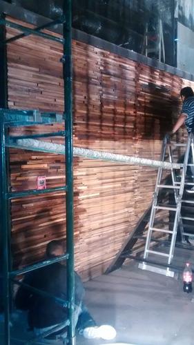 revestimiento madera para pared decoracion