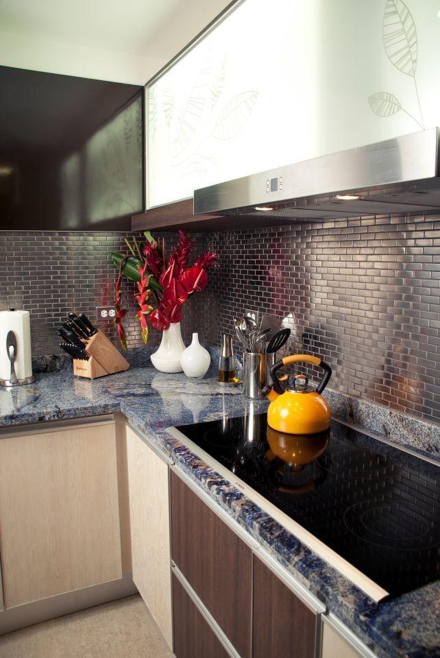 Revestimiento para cocinas integrales en acero por m2 for Precios de cocinas integrales en bogota colombia
