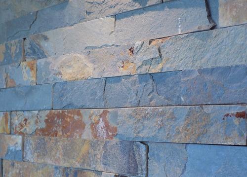 revestimiento pared piedra oxido 15x60 - cerámicas reinaldo