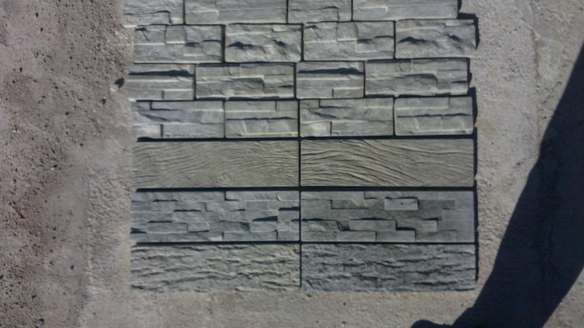Revestimiento piedra de hormigon vibrado 380 00 en for Revestimiento de piedra