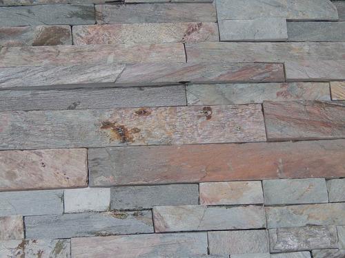 revestimiento piedra natural argentina oxidada comb.3 y 5 cm