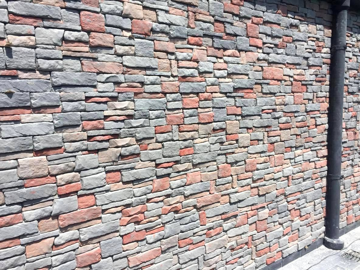 Pared piedra interior trendy piedra pared exterior - Piedra pared exterior ...
