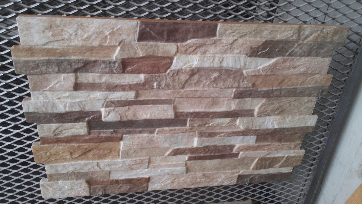 De pared exterior amazing aplique de pared para exterior - Revestimiento interior piedra natural ...