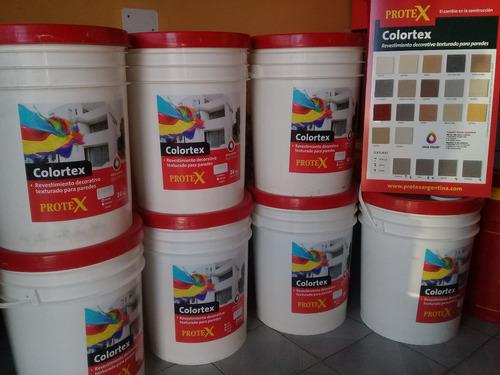 revestimiento plástico texturado colortex