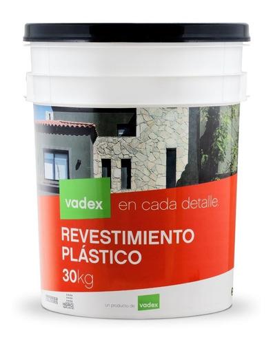 revestimiento plástico vadex piedra romanica blanco 25kg
