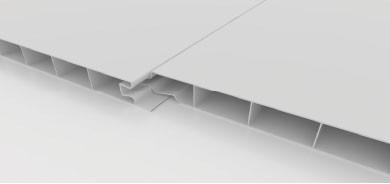 revestimiento pvc machimbre placas 200x14.5 mm blanco