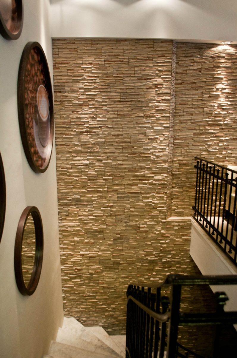Revestimiento simil piedra andes beige veteado en mercado libre - Revestimientos de paredes imitacion piedra ...