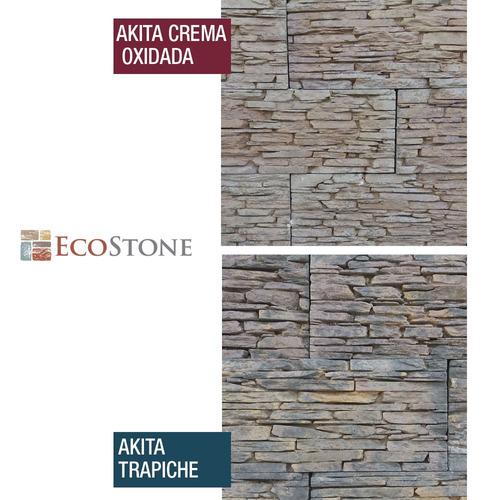 revestimiento simil piedra ecostone interior exterior pared