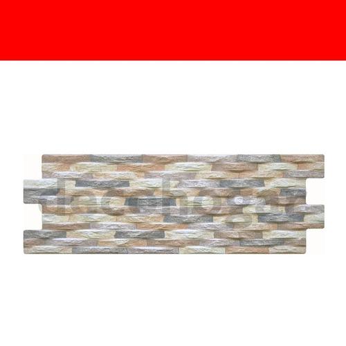 revestimiento simil piedra porcelanato pizarra gris por piez