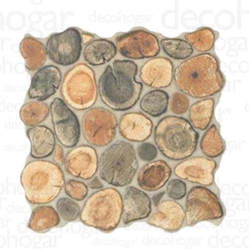 revestimiento simil piedra porcelanato tala tronco por pieza