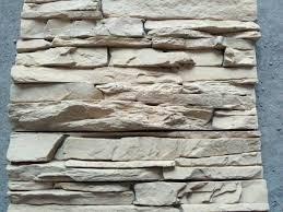 revestimiento simil piedra scala beige pared interior ext...