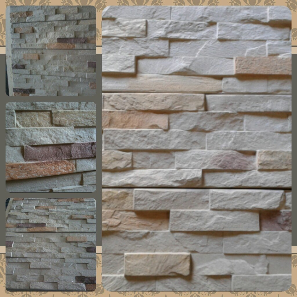 Piedras para paredes latest vintage d pvc ladrillo papel for Baldosa pared piedra