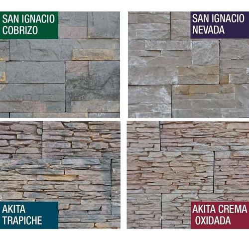 revestimiento simil piedras naturales oxido decoracion interior exterior
