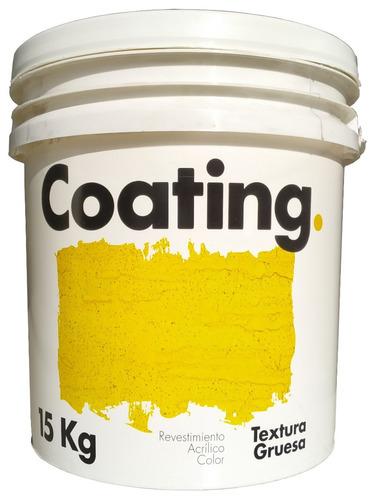 revestimiento texturado grueso color int. ext. coating 15 kg (tipo revear - tarquini)