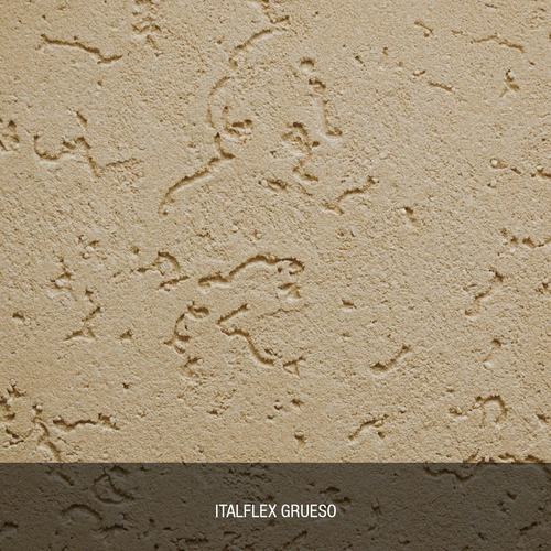 revestimiento texturado impermeable italflex