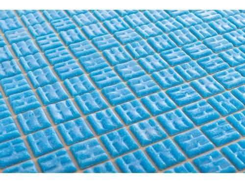 revestimiento venecita piscinas celeste caja por 2 m2