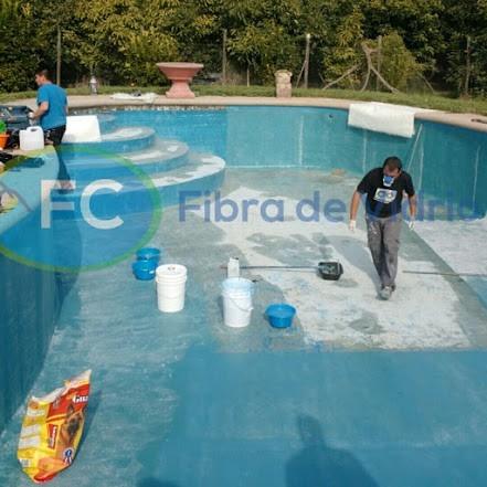 revestimientos de piscinas con fibra de vidrio