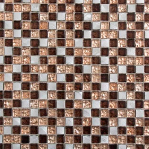 fec383439446 Revestimientos Ostakia Malla Cocoa 30x30 Venta X Unidad