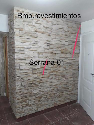 revestimientos simil piedra  fabric.venta y colocacion $25