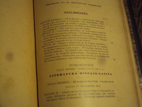 revilla historia de l literatura española t2 1898 principios