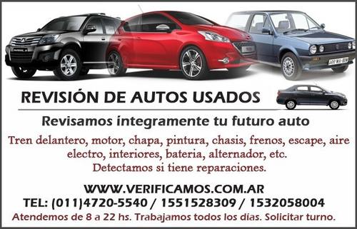 revision de autos usados chequeo inspeccion mecanica