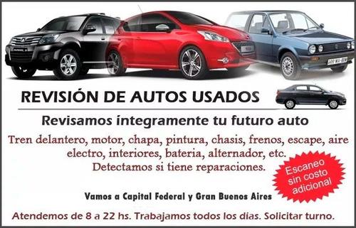 revision de autos verificacion chequeo inspeccion mecanica