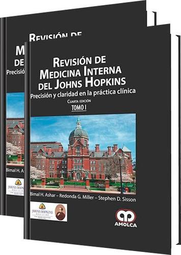 revisión medicina interna del johns hopkins 2 tomos - amolca