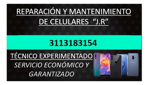 revisión, reparación, mantenimiento de celulares o teléfonos