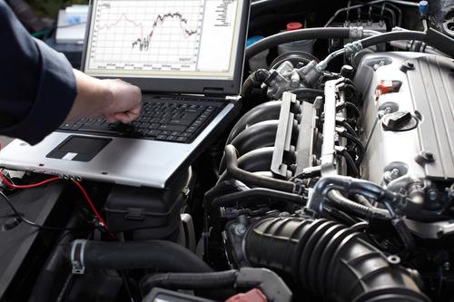 revisión y escaneo del vehículo a comprar a domicilio