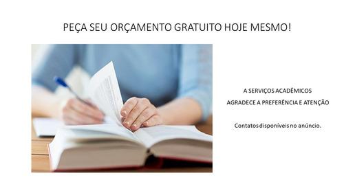 revisão de trabalho de conclusão de curso (tcc) e monografia
