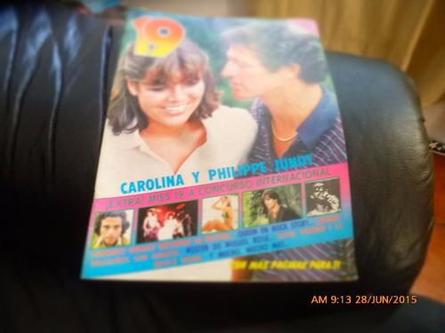 revista 19   carolina y philippe junot -n° 11  12-1-78 (w17