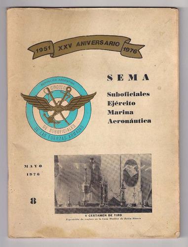 revista 25 aniversario s e m a mayo 1976