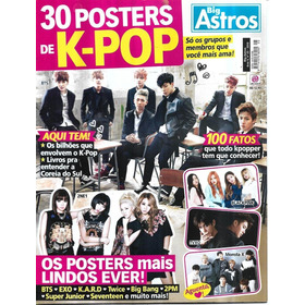 Revista 30 Posters De K-pop 6 Big Astros Ano 4 Nº 25