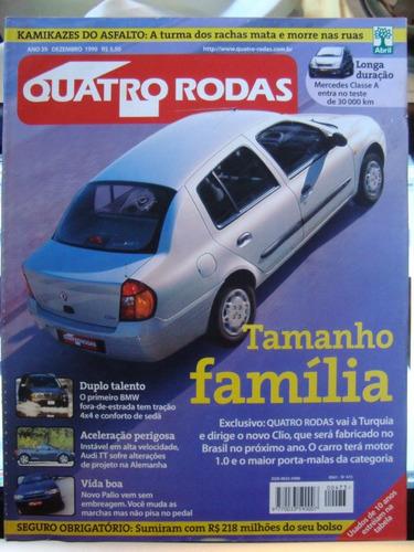 revista 4 rodas n. 473 dezembro 1999 -  estado de nova