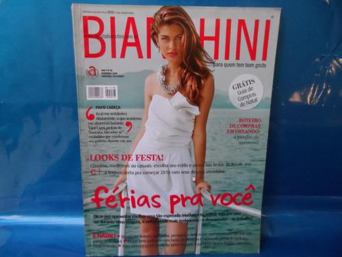 revista 48 bianchini looks festas, férias pra você, compras