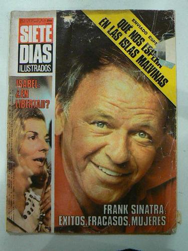 revista 7 dias 1977-02-25 sinatra exitos fracasos mujeres