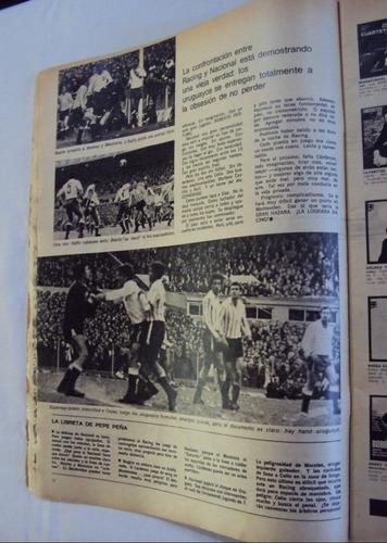 revista 7 dias nº 15 - racing nacional copa libertadores 67