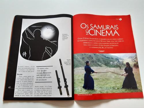 revista a história dos samurais  guerreiros orientais cc291